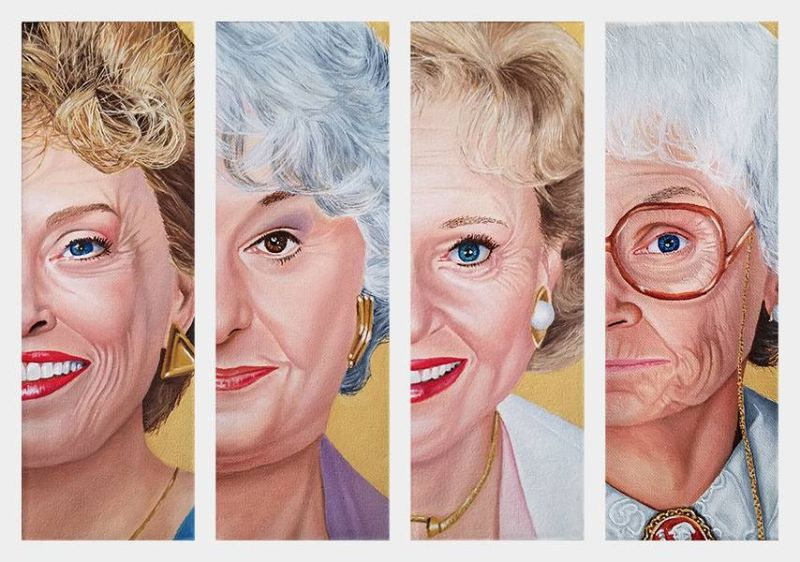 The Golden Girls sitcom TV show